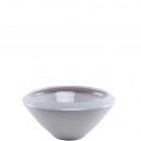 bol en céramique « Nuno » D30cm, brillant blanc